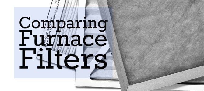 Comparing Furnace Filters