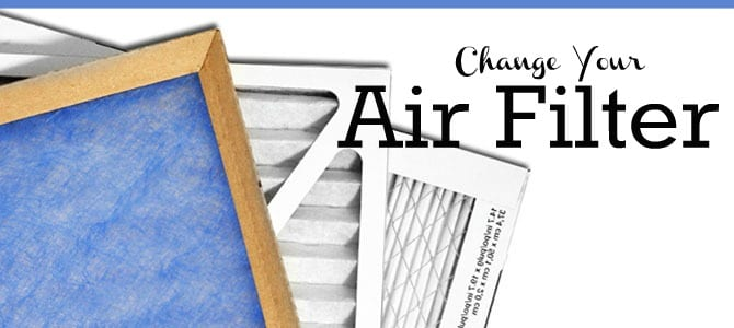 Change Your Air Filter