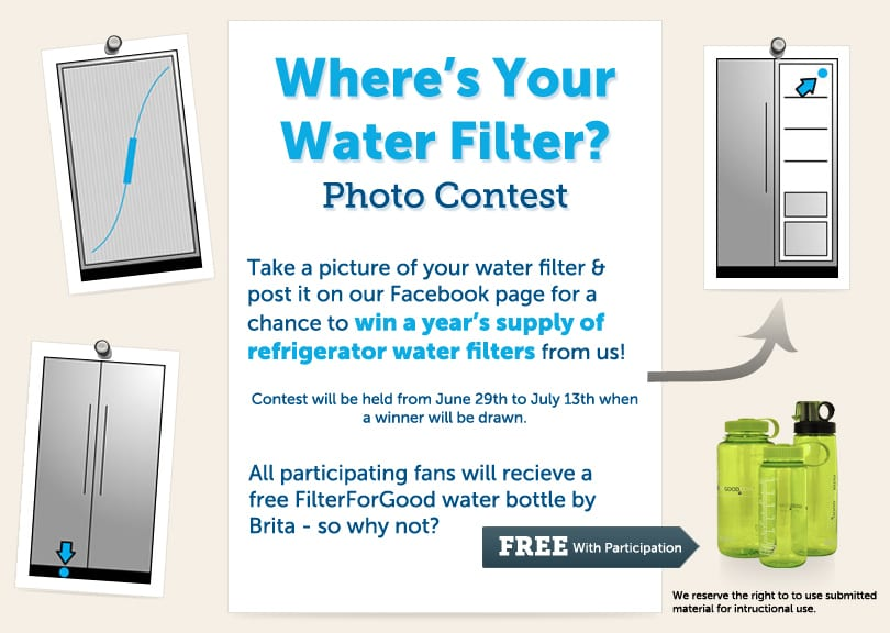 Where's your water filter contest