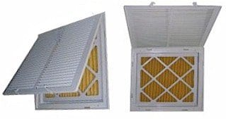 An example of a return grille filter.