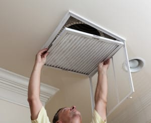 How does a HVAC filter work?