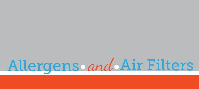 Allergens and Air FIlters