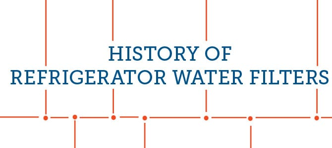History of Refrigerator Water Filters