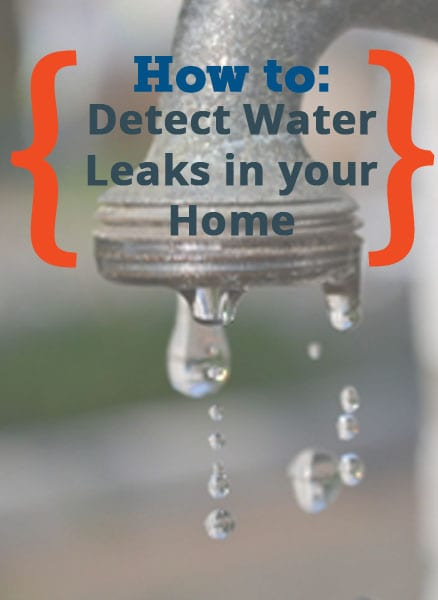 Water Leaks in Home