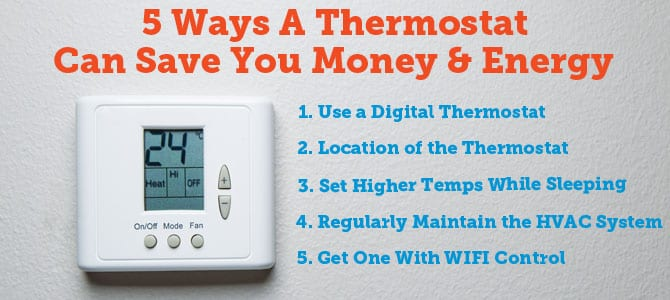 Thermostat to Save Energy