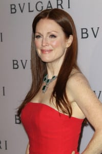 The lovely Julianne Moore fights for clean water and conservation.