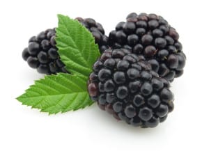 Adding blackberry and sage to your water is a sweet, tasty treat.