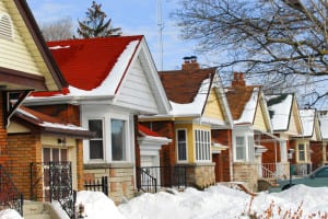 Melting snow on the roof of your home is a sure sign that you're losing heat and wasting money and energy.