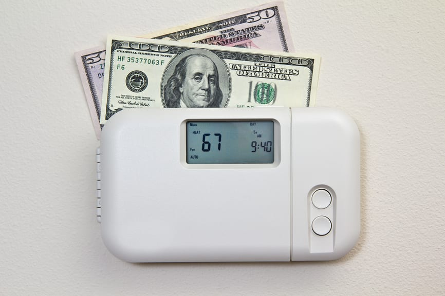 There are some simple steps you can take to save money and energy in the winter