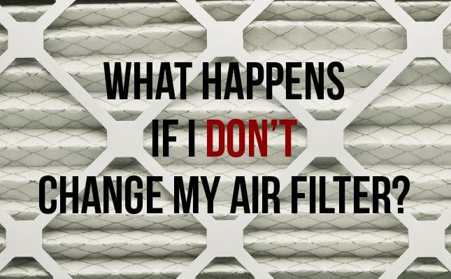 What Happens If I Don't Change My Air Filter Image