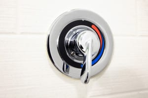 hot and cold shower knob