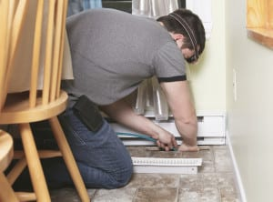 professional cleaning air ducts