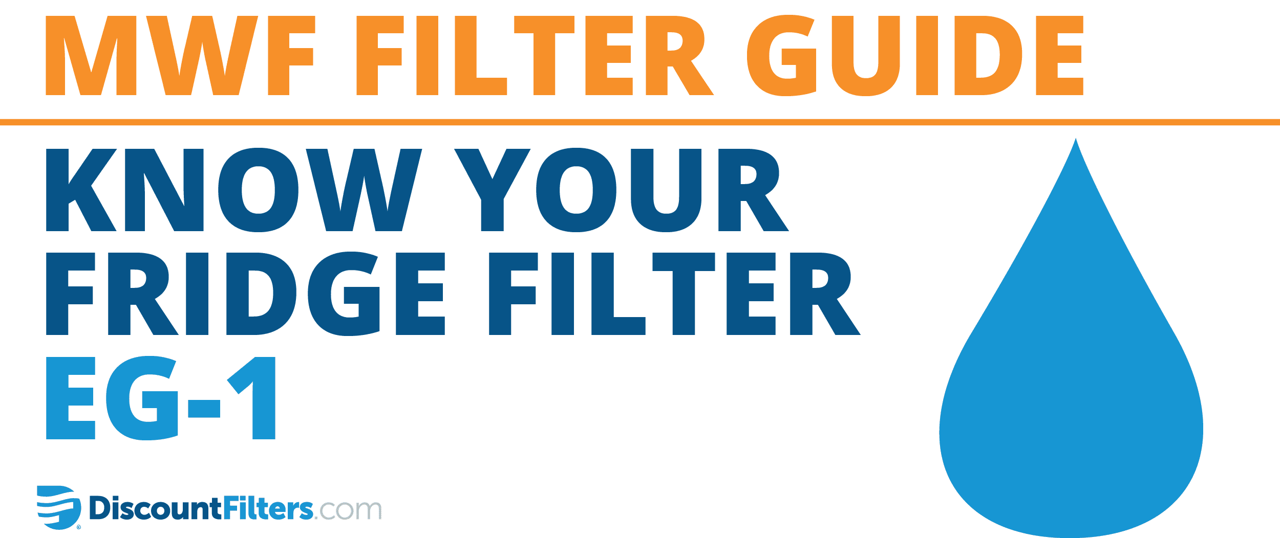 know your fridge filter: eg-1
