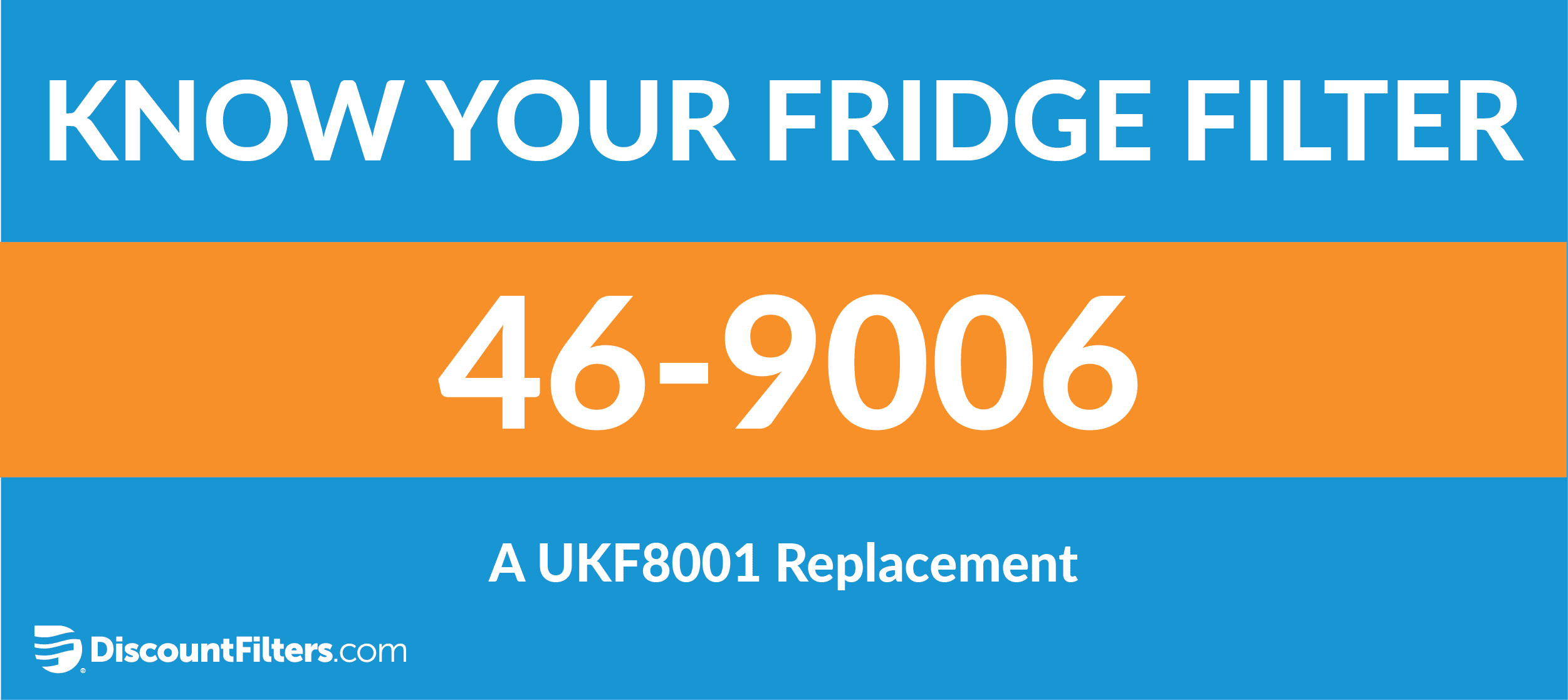 know your fridge filter 46-9006 ukf8001 replacement filter