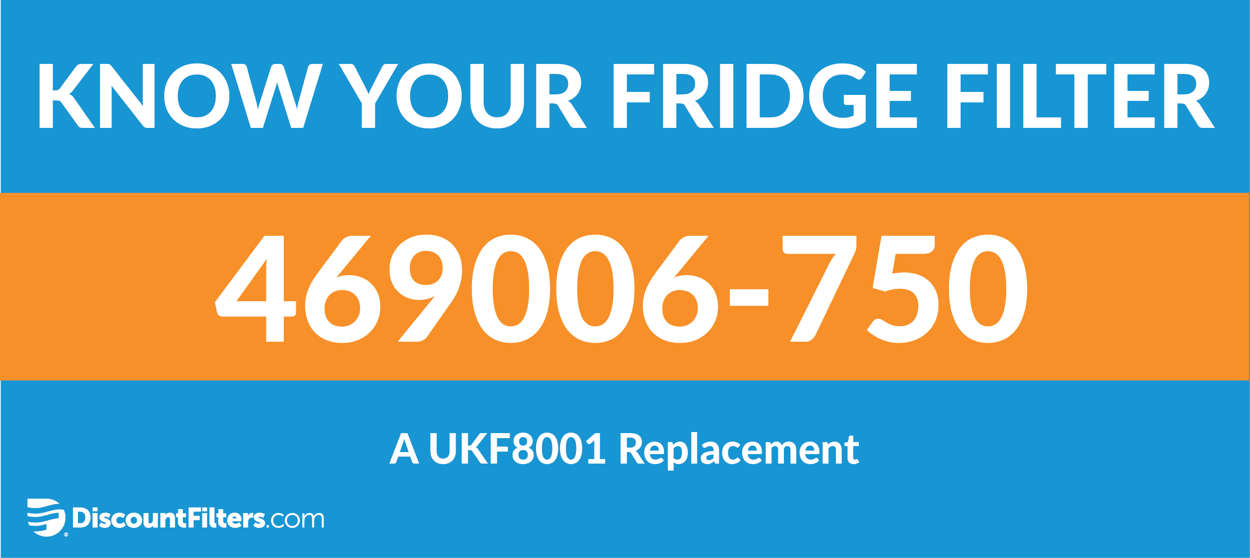 know your fridge filter 469006-750 a ukf8001 replacement