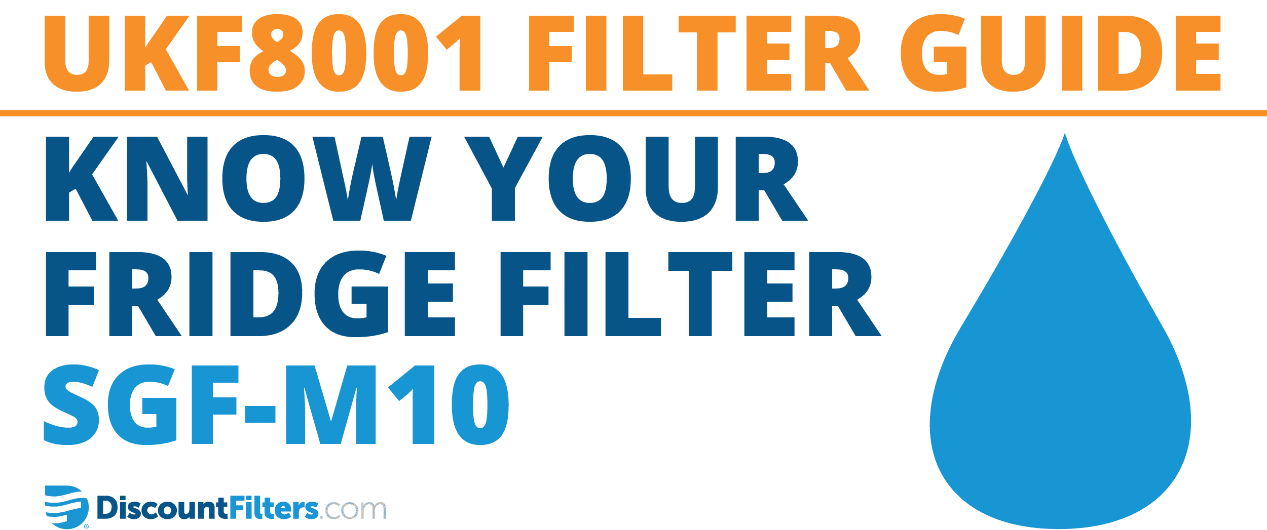 know your fridge filter sgf-m10 ukf8001 replacement