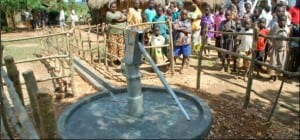 well in village from water 4 kids