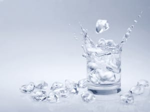 water and ice from the T1WG2L water filter