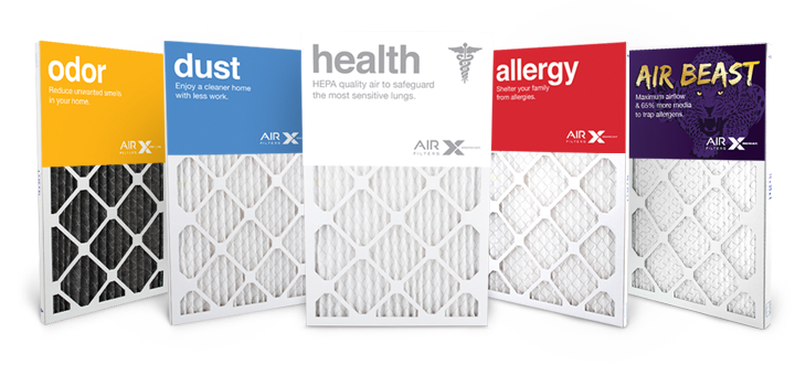 4 Count MERV Variables. 16x25x1 High Quality Replacement Furnace Air Filters