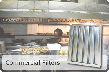 Commercial Grease Baffle Filters