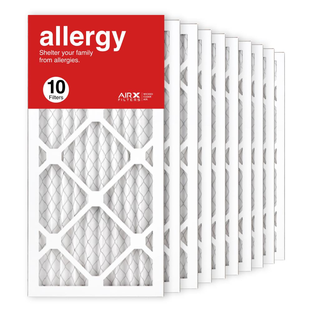 10x20x1 AIRx ALLERGY Air Filter, 10-Pack