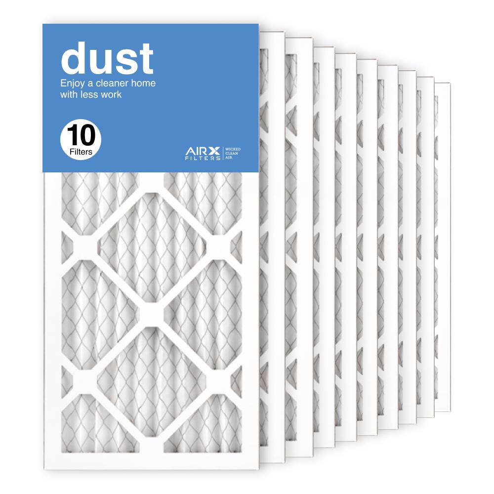 10x20x1 AIRx DUST Air Filter, 10-Pack