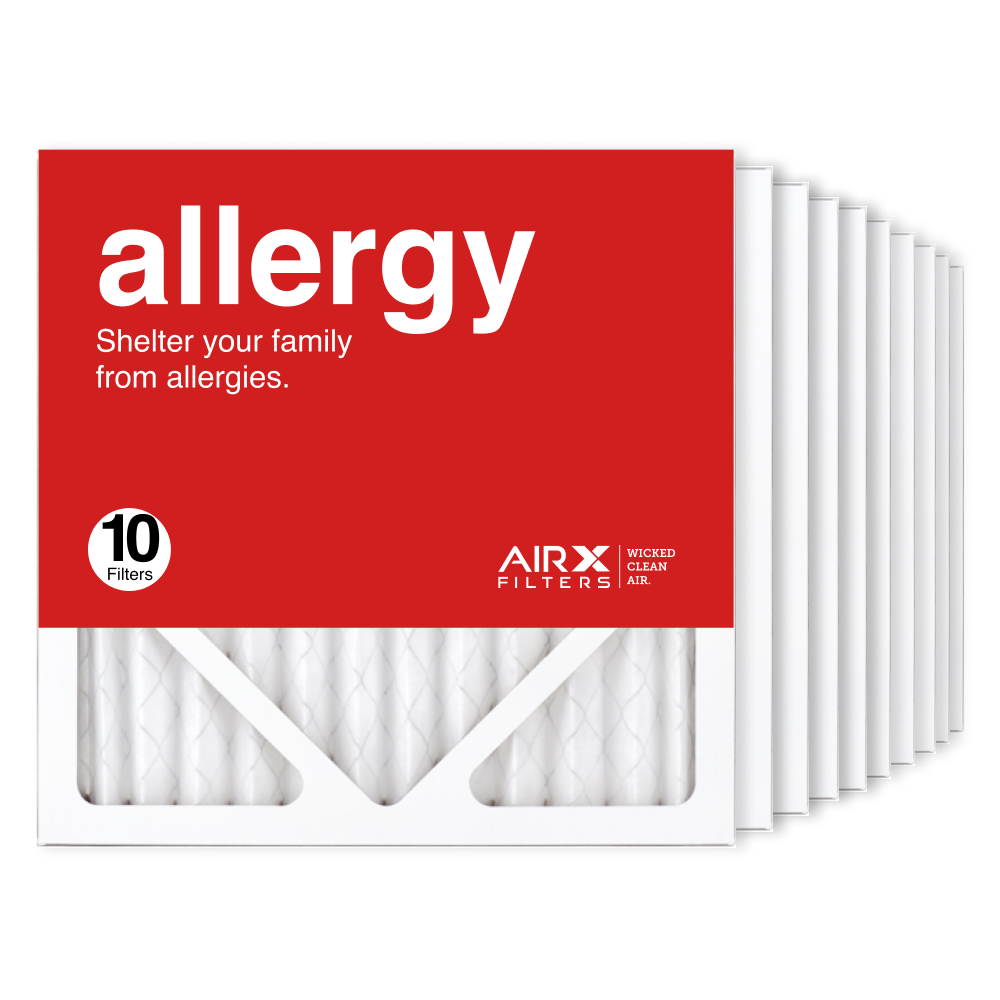12x12x1 AIRx ALLERGY Air Filter, 10-Pack