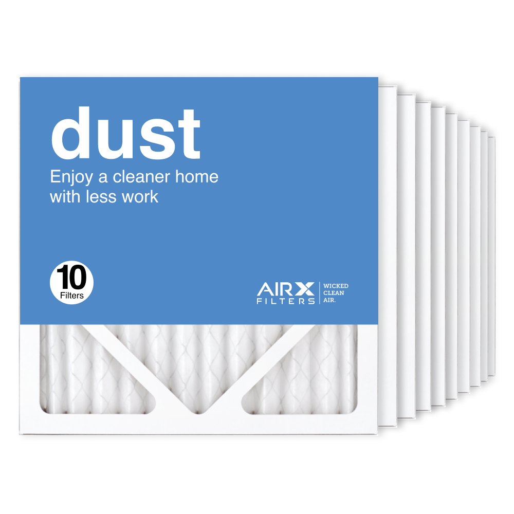 12x12x1 AIRx DUST Air Filter, 10-Pack
