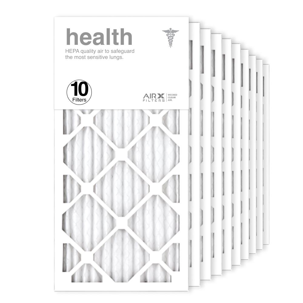 12x25x1 AIRx HEALTH Air Filter, 10-Pack