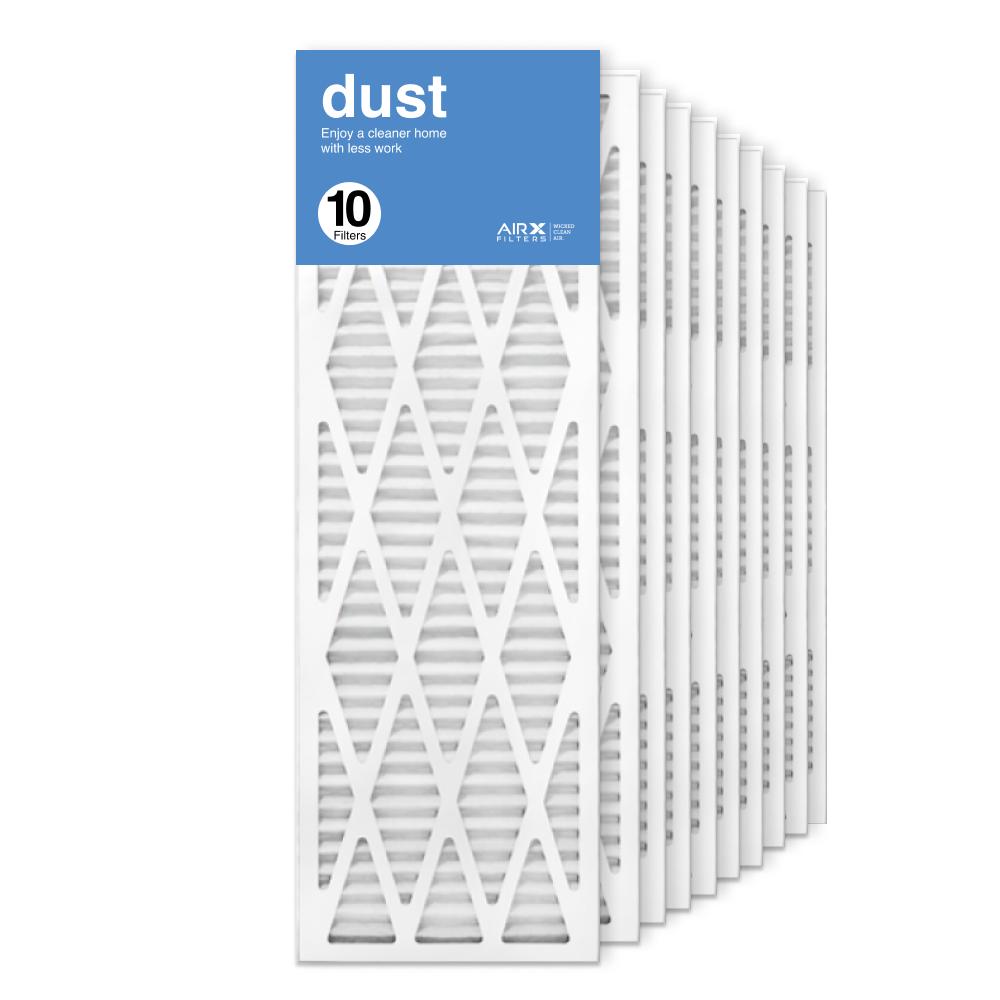 12x36x1 AIRx DUST Air Filter, 10-Pack