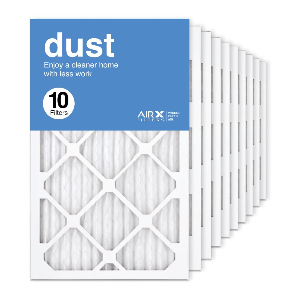 13x21.5x1 AIRx DUST Air Filter, 10-Pack