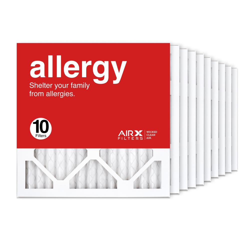 14x14x1 AIRx ALLERGY Air Filter, 10-Pack