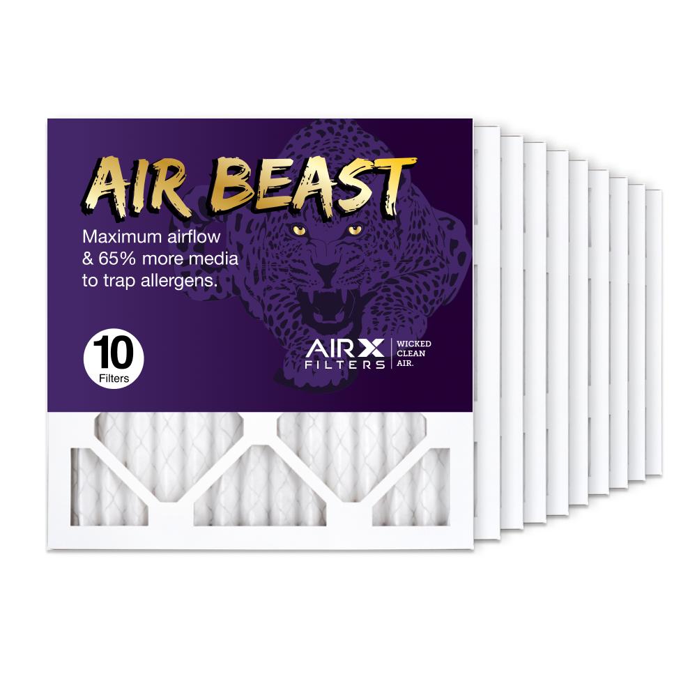 14x14x1 AIRx Air Beast High Flow Air Filter, 10-Pack