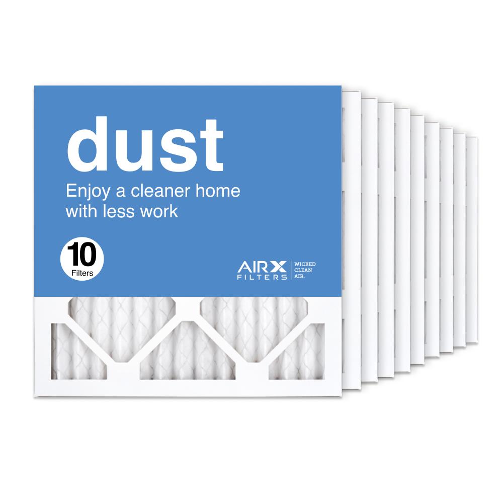 14x14x1 AIRx DUST Air Filter, 10-Pack