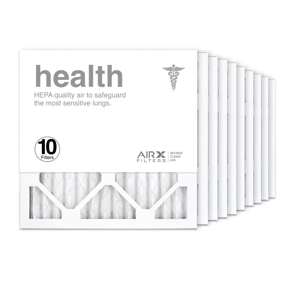 14x14x1 AIRx HEALTH Air Filter, 10-Pack