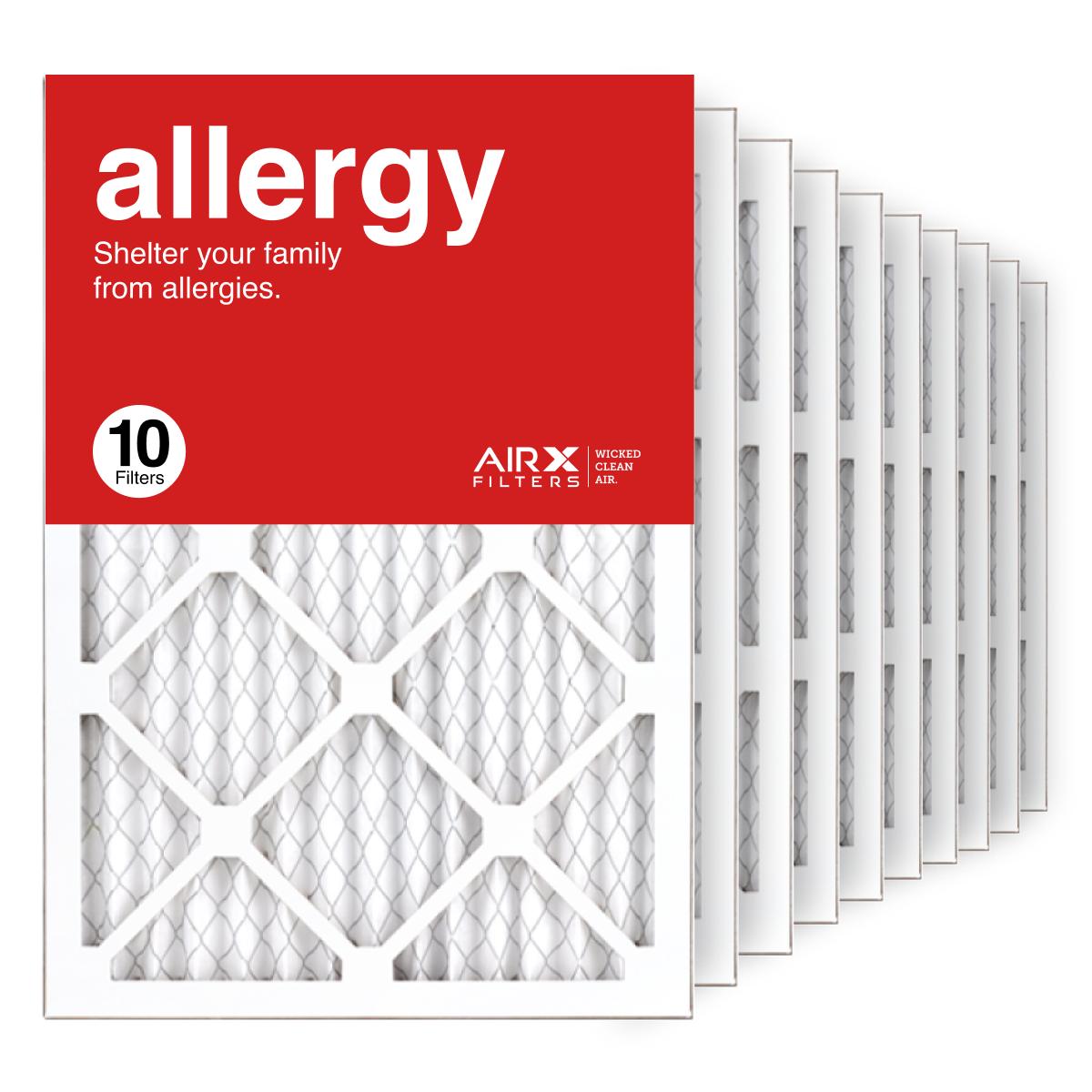 14x20x1 AIRx ALLERGY Air Filter, 10-Pack