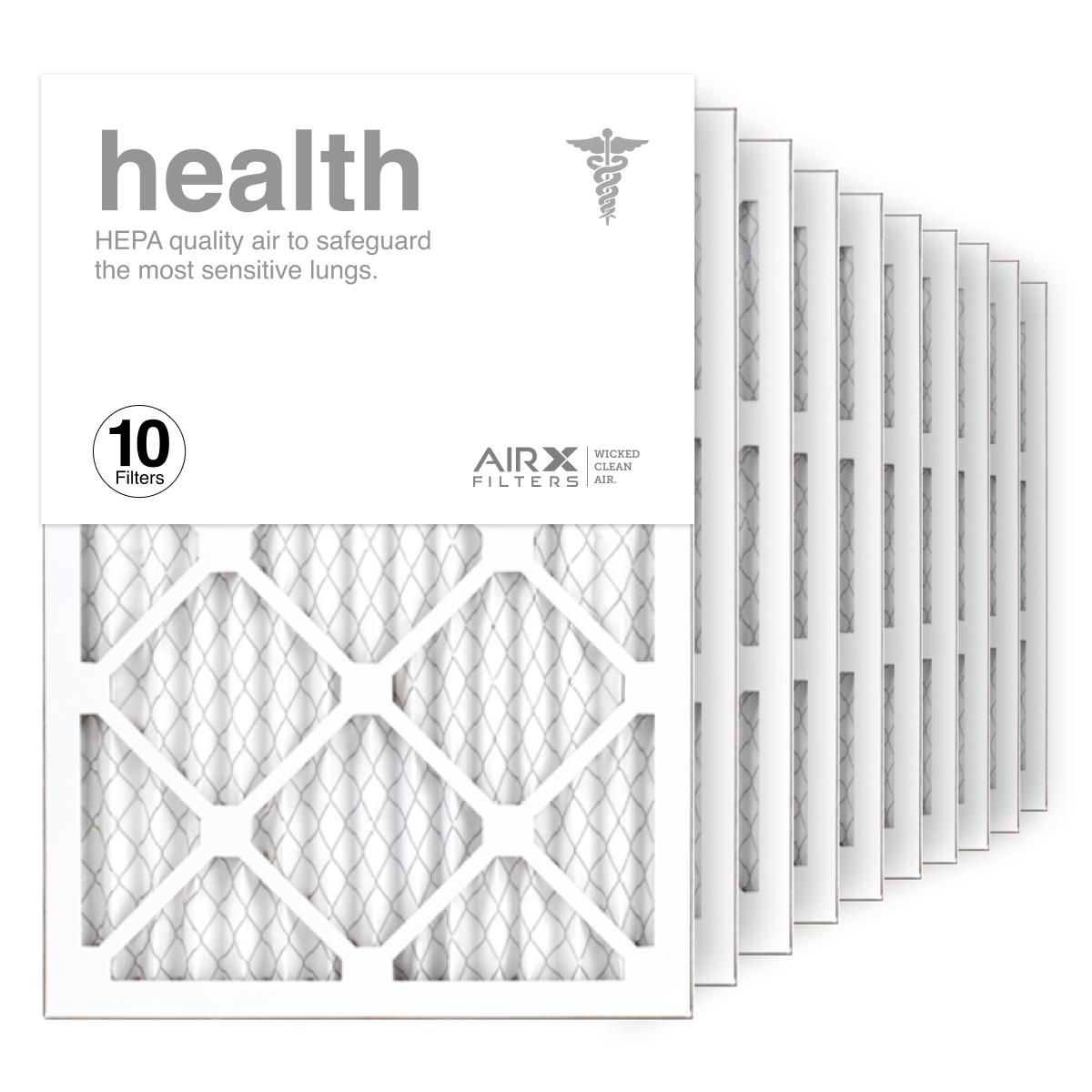 14x20x1 AIRx HEALTH Air Filter, 10-Pack