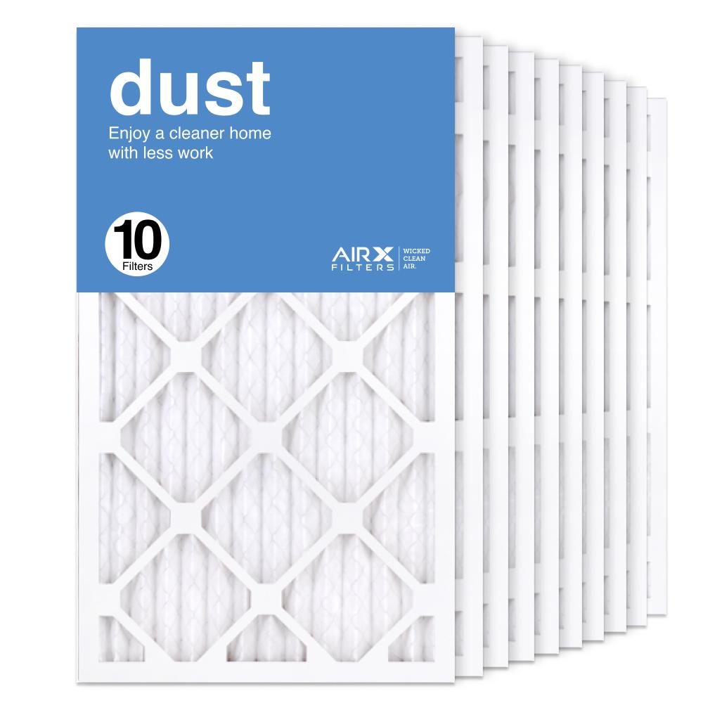 14x24x1 AIRx DUST Air Filter, 10-Pack