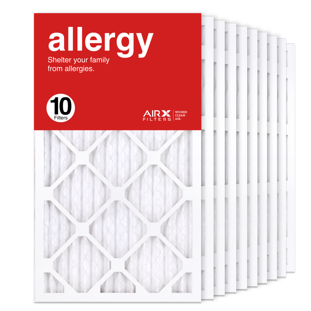 14x25x1 AIRx ALLERGY Air Filter, 10-Pack