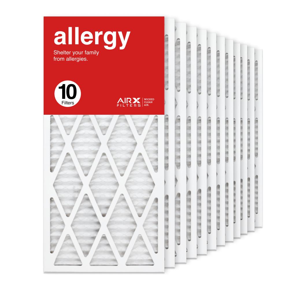 14x30x1 AIRx ALLERGY Air Filter, 10-Pack