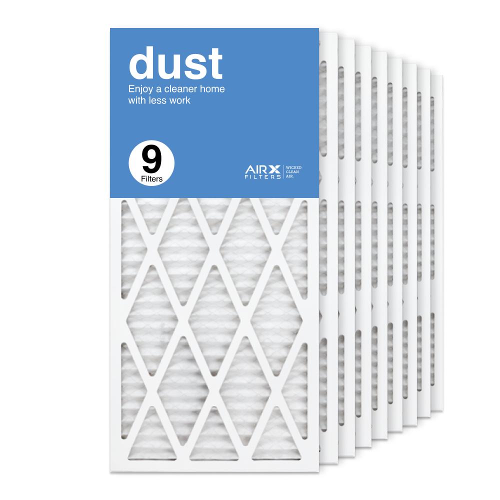 14x30x1 AIRx DUST Air Filter, 10-Pack