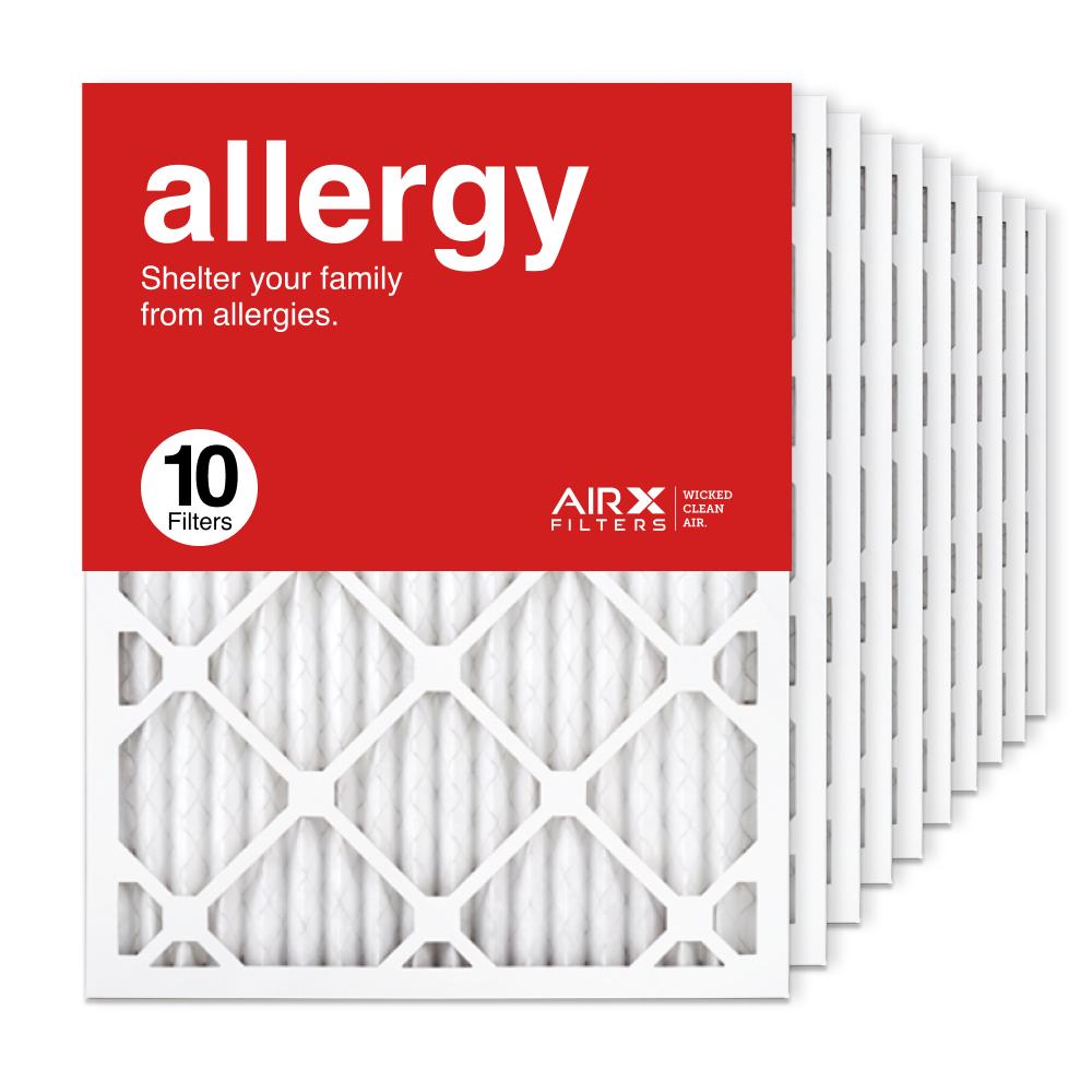 16.375x21.5x1 AIRx ALLERGY Air Filter, 10-Pack