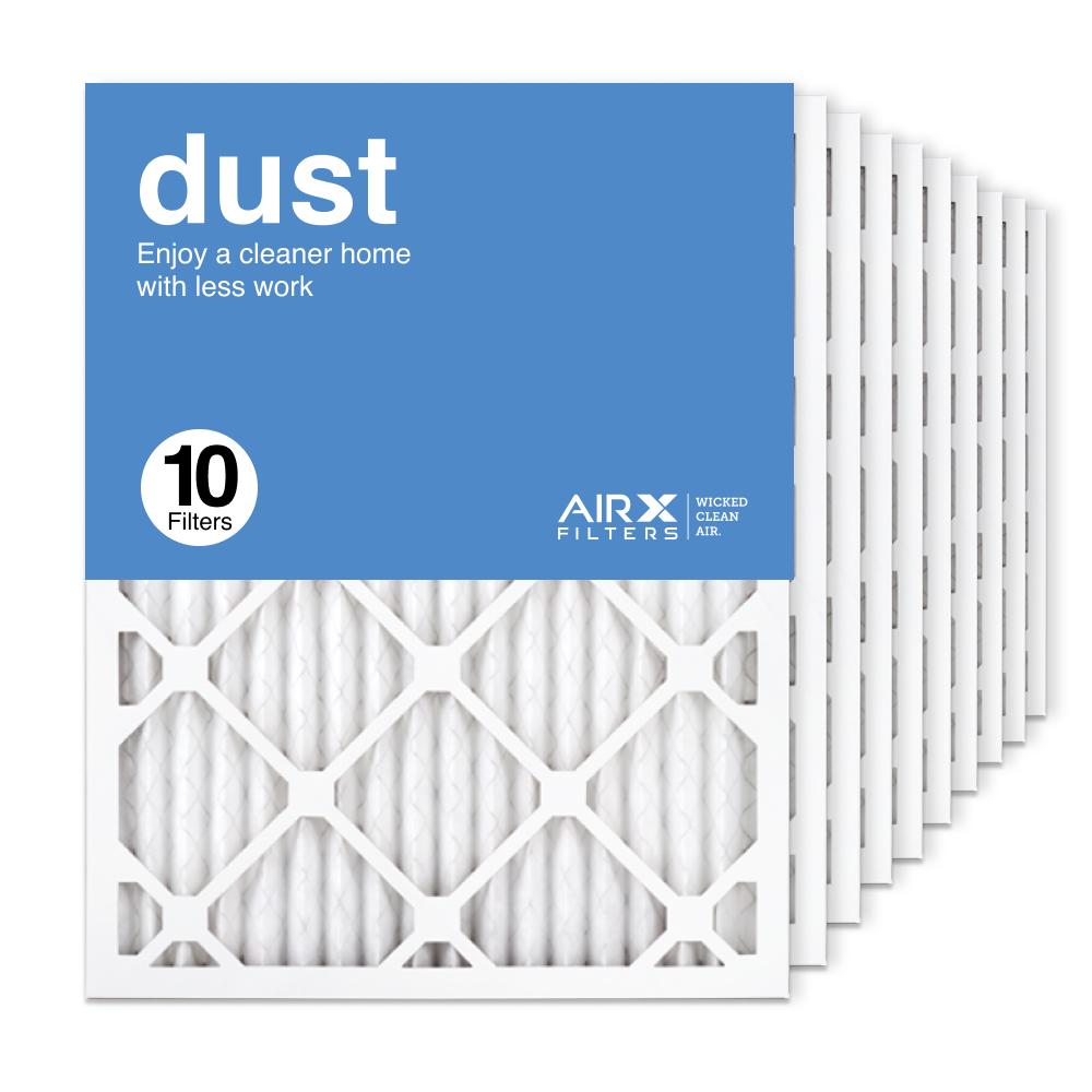 16.375x21.5x1 AIRx DUST Air Filter, 10-Pack