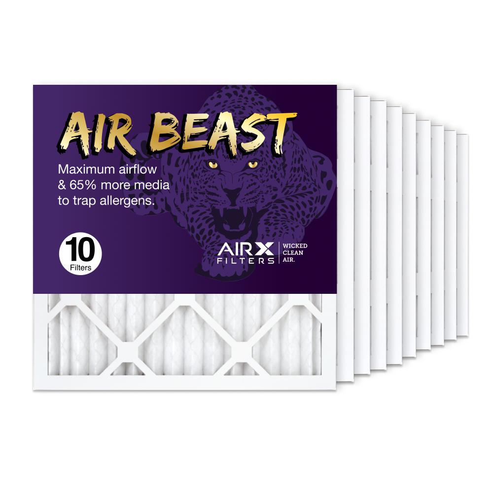 16x16x1 AIRx Air Beast High Flow Air Filter, 10-Pack