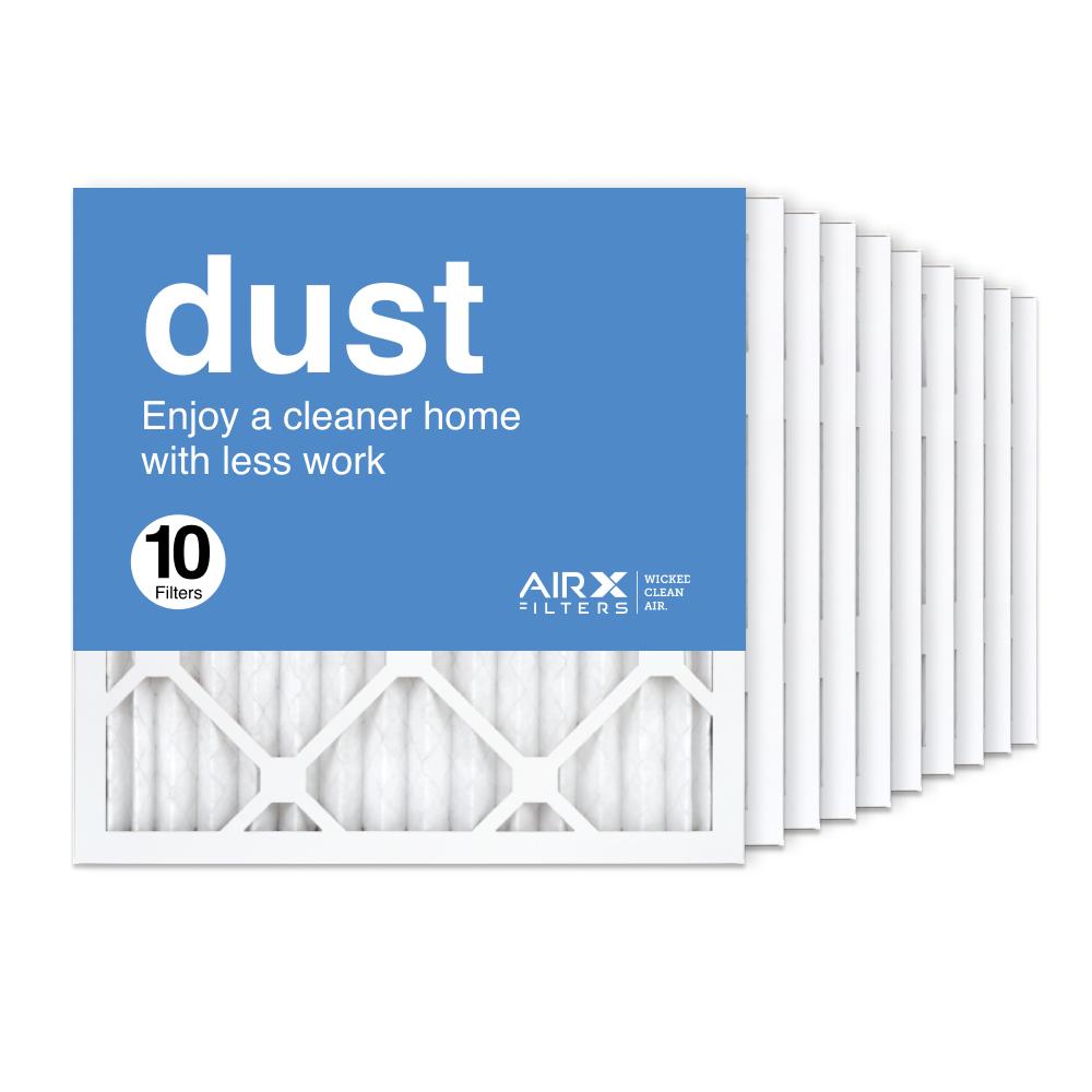 16x16x1 AIRx DUST Air Filter, 10-Pack