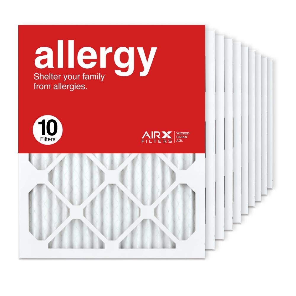 16x20x1 AIRx ALLERGY Air Filter, 10-Pack