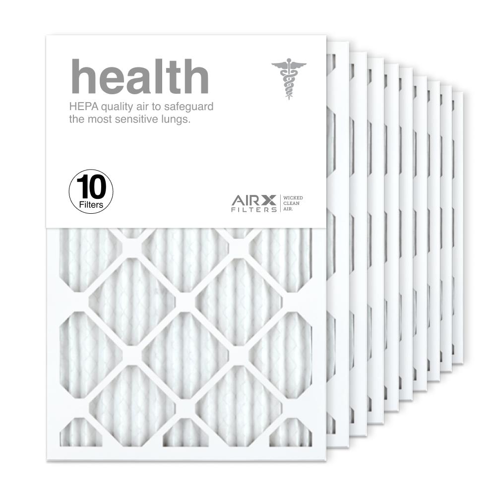 16x25x1 AIRx HEALTH Air Filter, 10-Pack