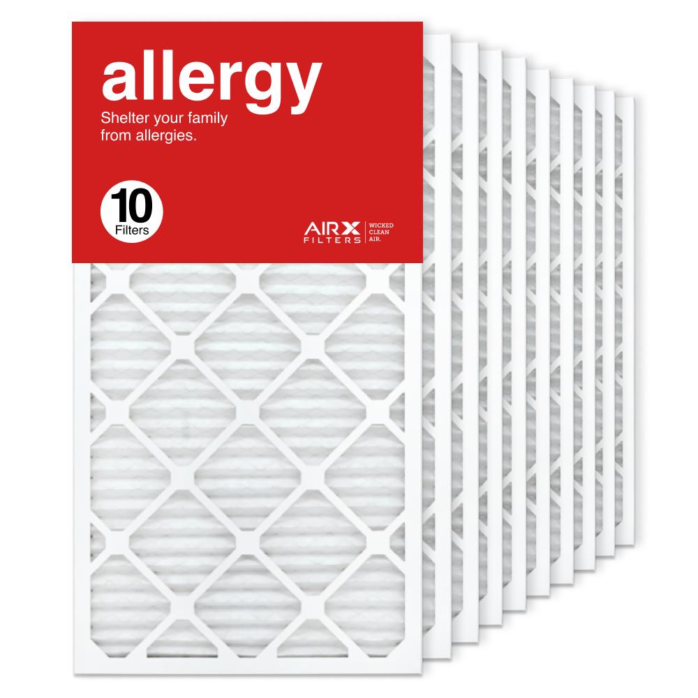 16x30x1 AIRx ALLERGY Air Filter, 10-Pack