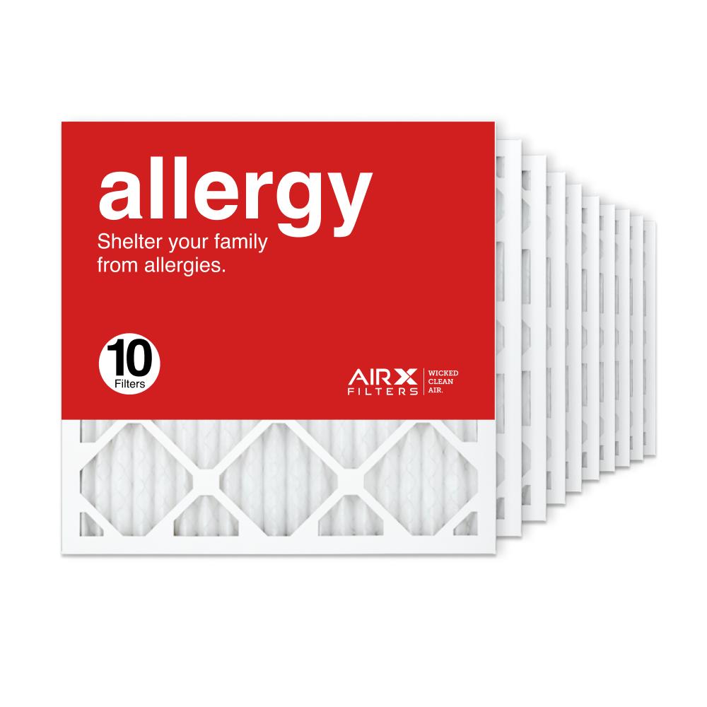 18x18x1 AIRx ALLERGY Air Filter, 10-Pack