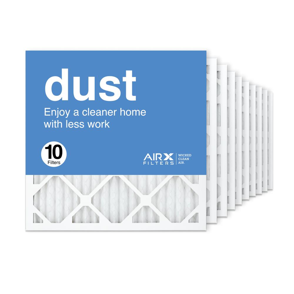 18x18x1 AIRx DUST Air Filter, 10-Pack